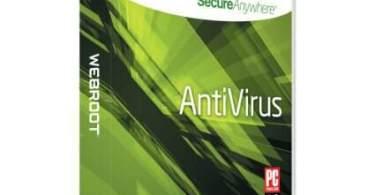 Webroot SecureAnywhere Antivirus Serial Key 2018