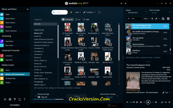 Audials One 2017 Crack with License Key