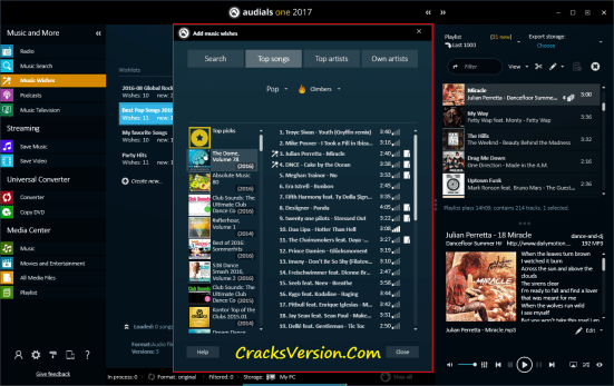 Audials One 2017 License Key with Crack