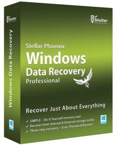 Stellar Phoenix Windows Data Recovery Pro Crack