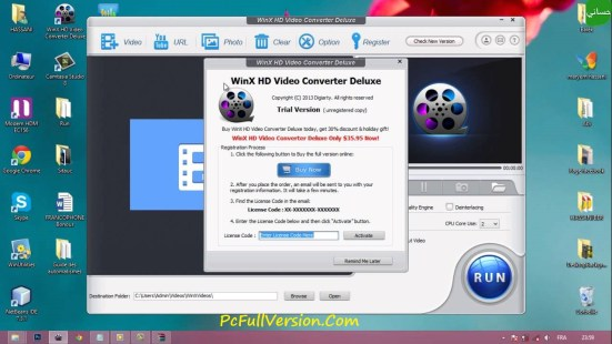 WinX HD Video Converter Deluxe Serial Number
