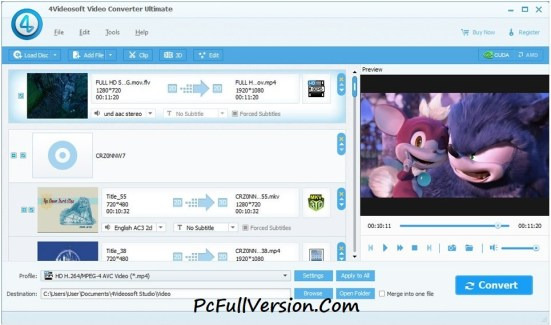 4Videosoft Video Converter Ultimate Crack Full Free Download