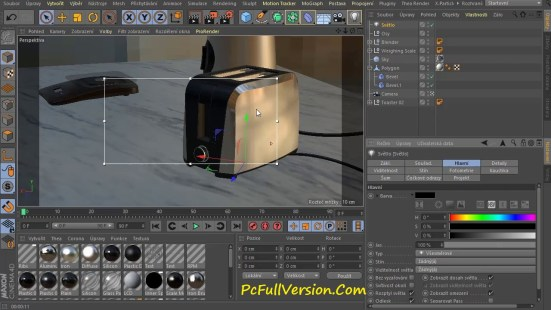 Cinema 4D R19 Crack with Keygen Free Download