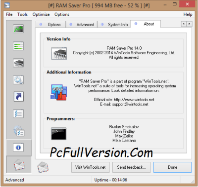 RAM Saver PRO Crack + License Key 2017 Download