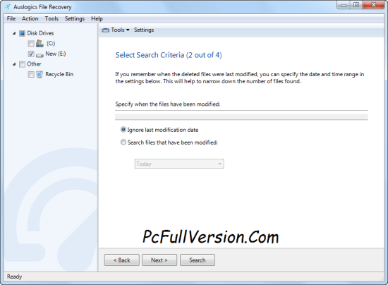 Auslogics File Recovery Crack & Serial Key Download