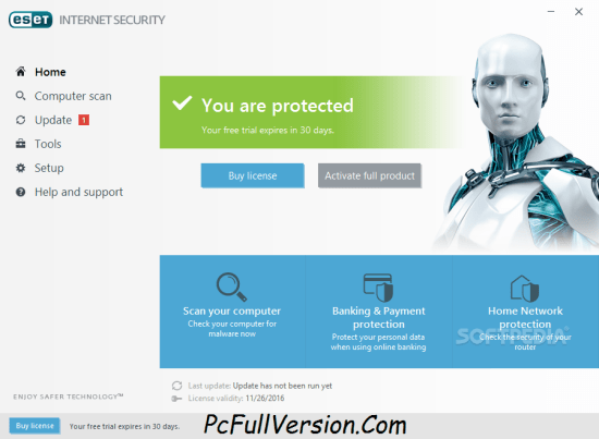 ESET Internet Security 11 License Key 2018 Crack Download