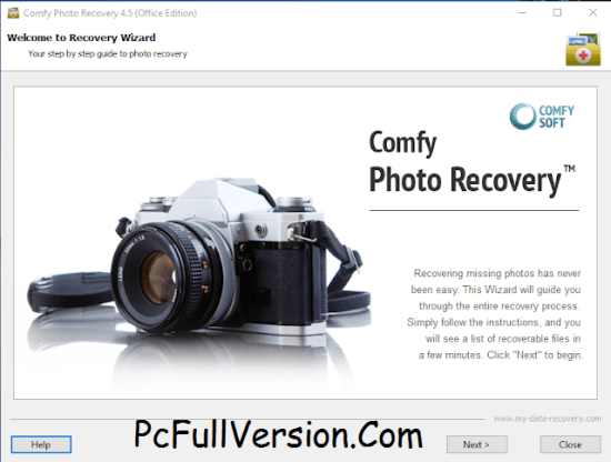 Comfy Photo Recovery Crack + Serial Key Full Download