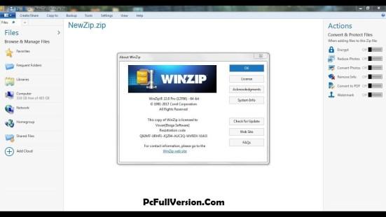 Winzip Pro 22.5 Crack