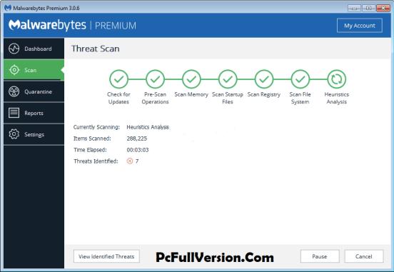 Malwarebytes Anti-Malware 3.6.1 License Key