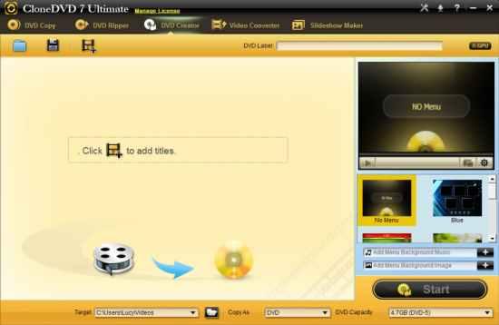CloneDVD 7 Ultimate License Key