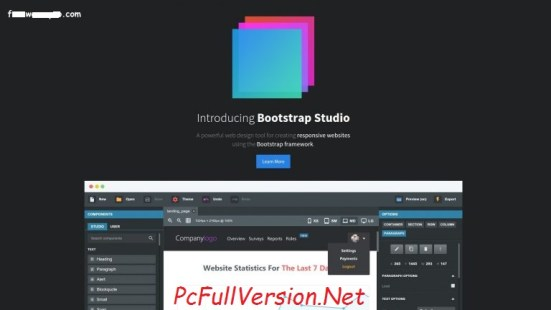 Bootstrap Studio Crack Patch PRO Full Version Download