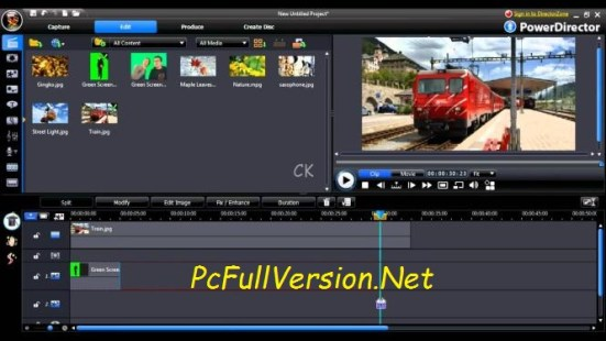 Powerdirector 16 Crack & Serial Key Full Free Download