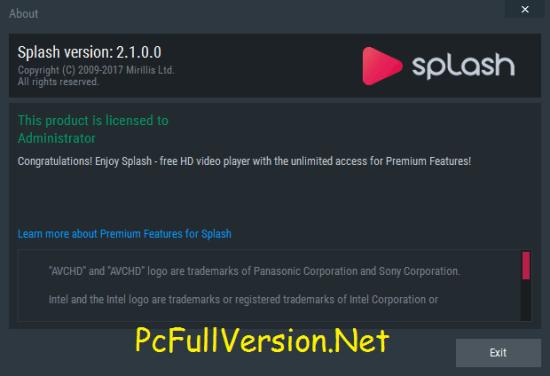 Mirillis Splash 2.1.0 Premium Crack & Serial Key Download