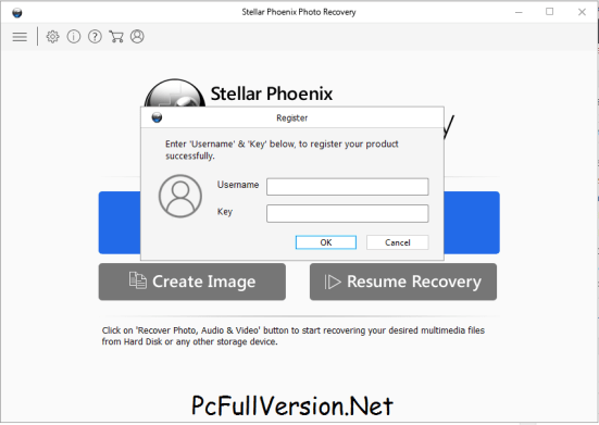 Stellar Phoenix Photo Recovery 7.0 Username and Key Download
