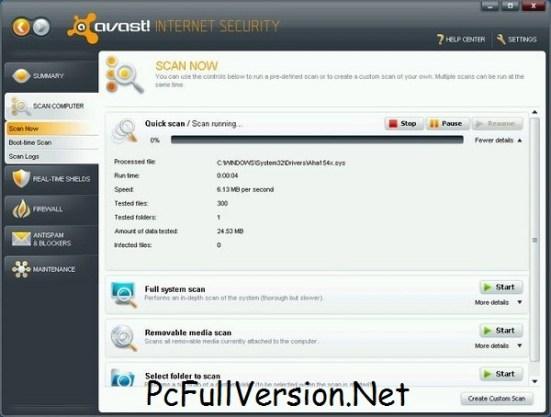 Avast Premier 2018 Crack & License File Till 2055 Full Download