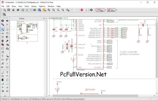 CadSoft EAGLE 8.7.0 Professional Crack + Keygen Download