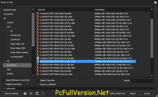 EDIUS Pro 9 Crack With Serial Number Full Version Download
