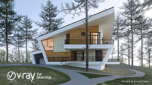 Vray 3.6 For SketchUp 2018 Crack Full Version Free Download