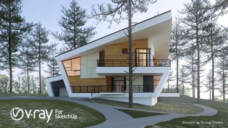 Vray For SketchUp 2018 Crack With Serial Key Free Download