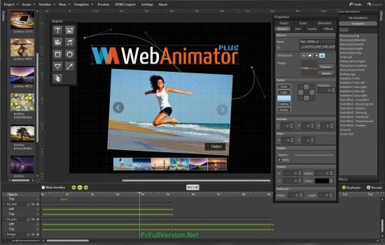 WebAnimator Plus Full Version