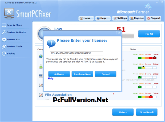 Smart PC Fixer License Key