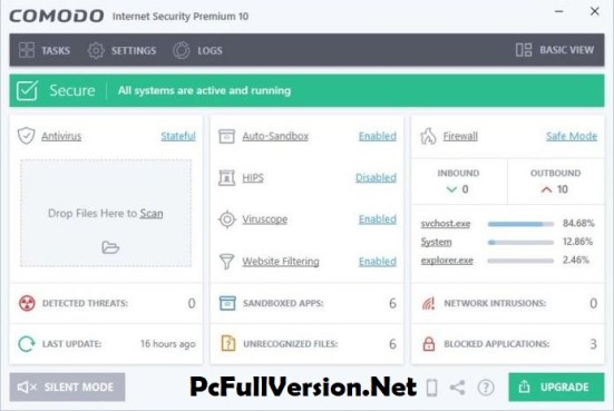 Comodo Internet Security Premium 10 Crack