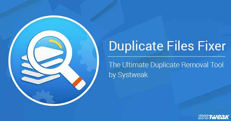 Duplicate Files Fixer 2018 Crack + License Key Free Download