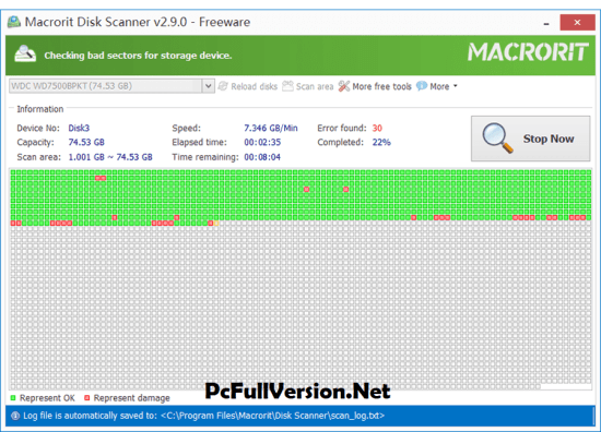 Macrorit Disk Scanner Crack