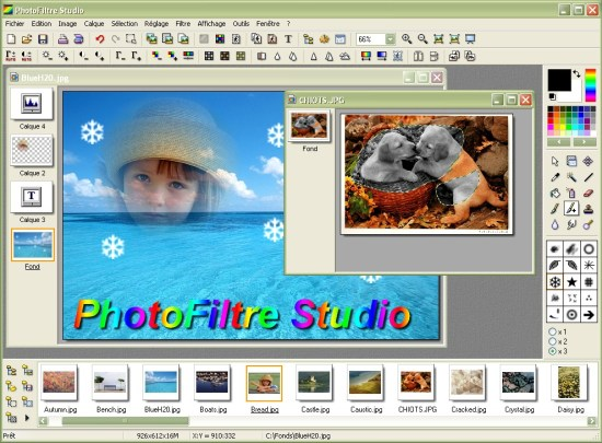 PhotoFiltre Studio X Serial Key