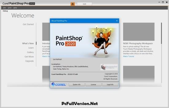 Corel PaintShop Pro 2020 Serial Number