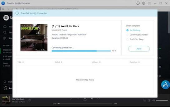TunePat Spotify Converter Serial Key