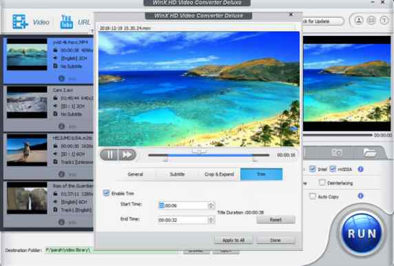 WinX HD Video Converter Deluxe Keygen