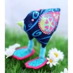 Fabric Chick Ornament