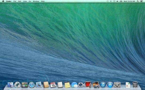 מערכת ההפעלה של אפל - MACOS בזמן עבודה