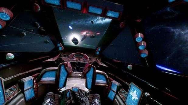 מערכת הקרב של החללית, נראה מבטיח ביותר, איכות 4K... ואו!