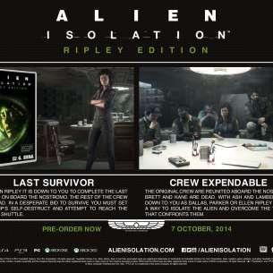 מידע נוסף על ה-DLC למזמינים בהזמנה מוקדמת את המשחק Alien: Isolation.