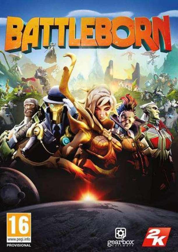 תמונה מהמשחק החדש Battleborn.