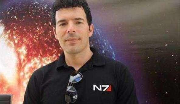 קייסי הדסון, במאי סדרת המשחק  Mass Effect ואחד האנשים המוערכים בתחומו