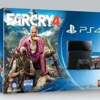 באנדל חדש עם מערכת PS4 שחורה הכוללת גם את המשחק Far Cry 4