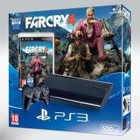 באנדל חדש עם מערכת PS3 הכוללת את המשחק Far Cry 4