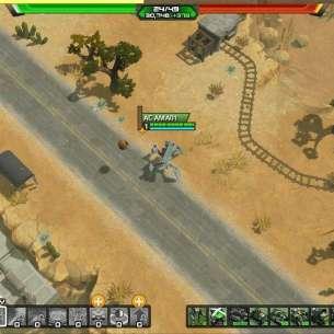 תמונת משחקיות בה נראית יחידת חייל של צבא אבסטרגו