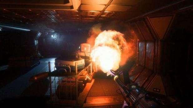 תמונת מצב מהמשחק Alien Isolation.