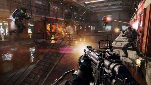 מתוך מצב מרובה המשתתפים של המשחק Call Of Duty Advanced Warfare