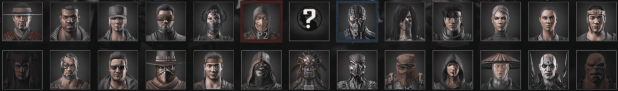 MKX Charecters