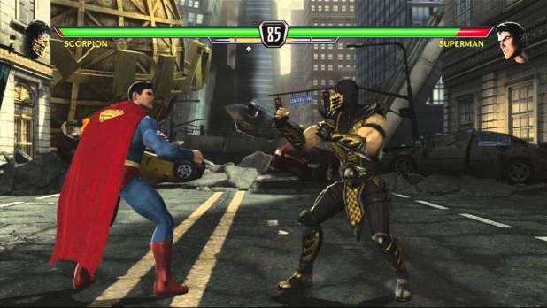 Mortal kombat v dc