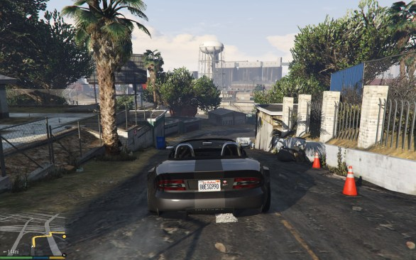 Grand Theft Auto V PC gameplay screenshot