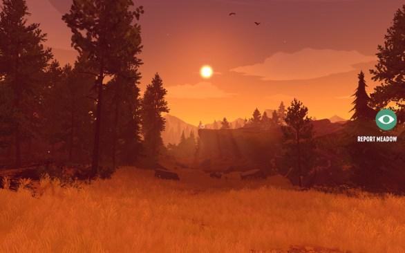 Firewatch PC gameplay screenshot