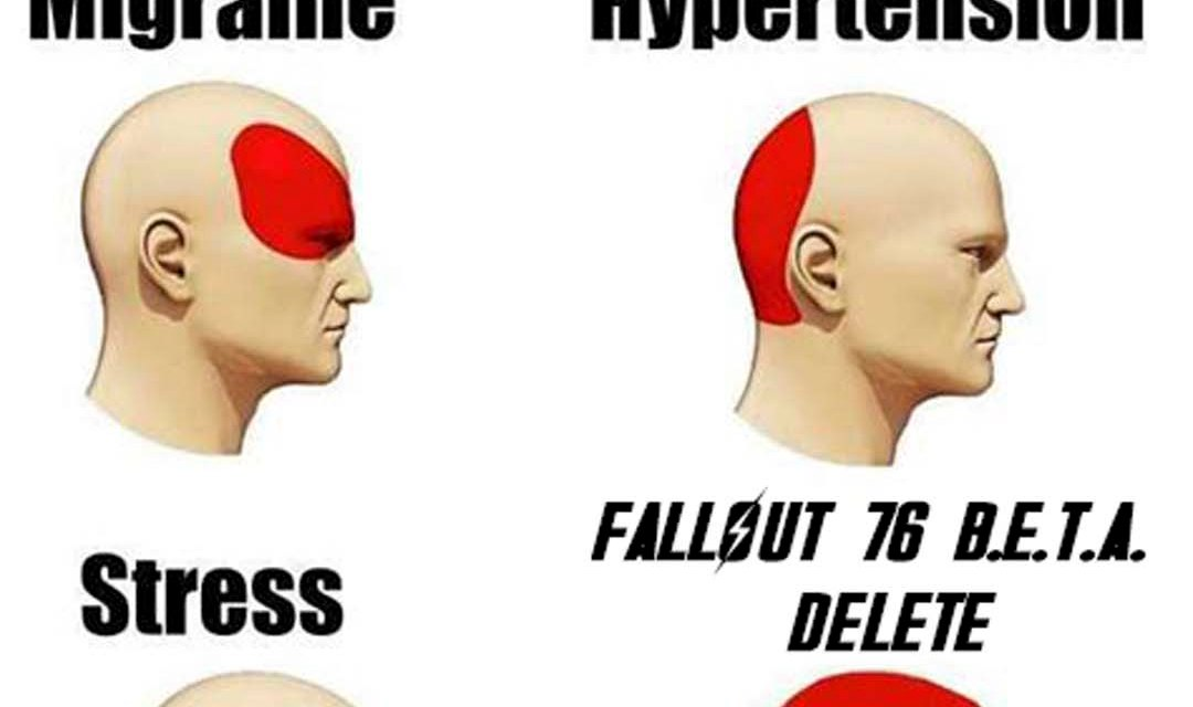 Types of Headache FO76