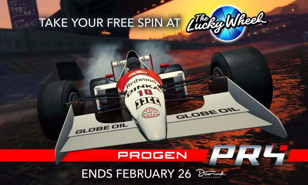 "Free Spin to Win ""The New Progen PR4"": Now on the Podium at The Diamond Casino & Resort – Rockstar Games"