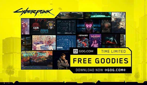 Cyberpunk 2077 Special Free Goodies Collection available until 4th July, 2020